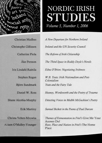 2006 Volume 5 – Number 1