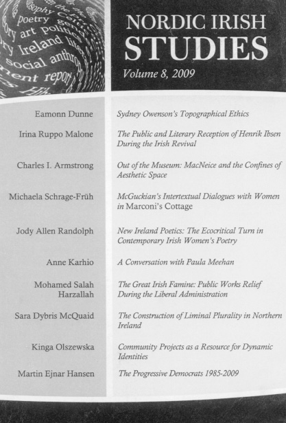 2009 Volume 8 – Number 2