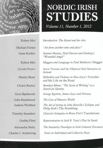 2012 Volume 11 – Number 1