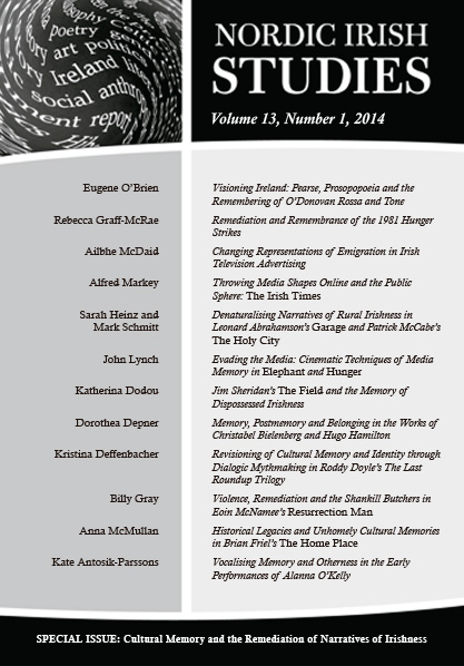 2014 Volume 13 – Number 1